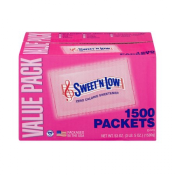 Sweet´N Low Zero Calorie Sweetener Packets 1500 Count