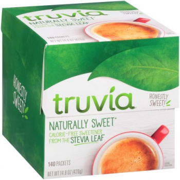 Truvia Natural Sweetener Packets 140 Count