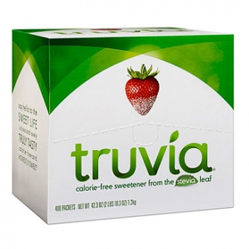 Truvia Natural Sweetener Packets 400 Count