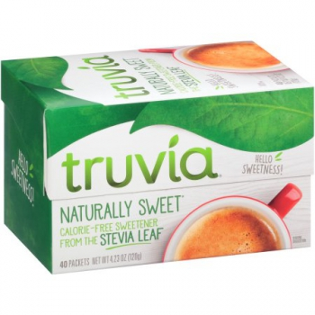 Truvia Natural Sweetener Packets 40 Count