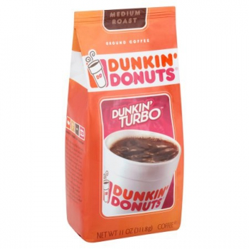 Dunkin' Donuts Dunkin' Turbo Ground Coffee ca. 311g (11oz)