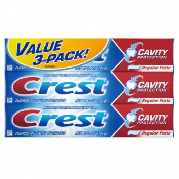 Crest Cavity Protection Toothpaste 3er-Pack ca. 544g (19.2oz)