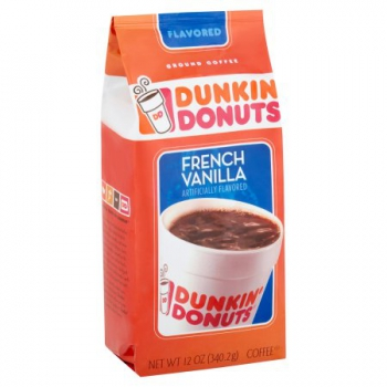 Dunkin' Donuts French Vanilla Ground Coffee ca. 340g (12oz)