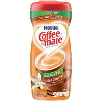 Nestle Coffee-mate Sugar Free Vanilla Caramel Powder Coffee Creamer ca. 289g (10.2oz)