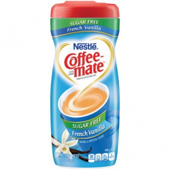 Nestle Coffee-mate Sugar Free French Vanilla Powder Coffee Creamer ca. 289g (10.2oz)
