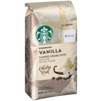 Starbucks Flavored Ground Coffee Vanilla ca. 340g (12oz)