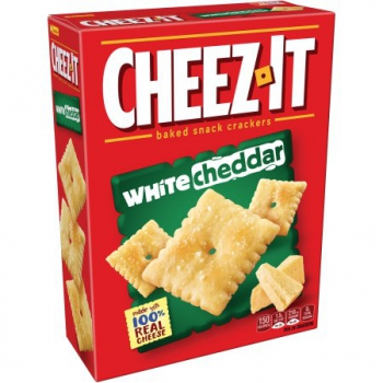 Cheez-It White Cheddar Baked Snack Crackers ca. 351g (12.4oz)