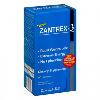 Zantrex-3 Dietary Supplement 60 Kapseln