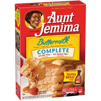 Aunt Jemima Complete Pancake & Waffle Mix Buttermilch ca. 907g (32oz)
