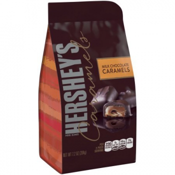 HERSHEY'S Caramels in Milk Chocolate ca. 204g (7.2oz)