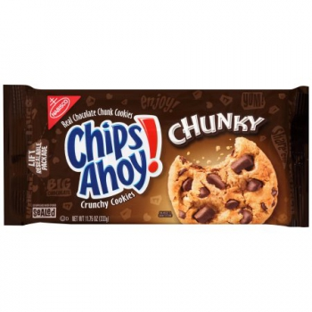 Nabisco Chips Ahoy! Crunchy Cookies Chunky ca. 333g (11.75oz)