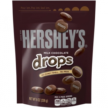 Hershey's Milk Chocolate Drops ca. 226g (8oz)