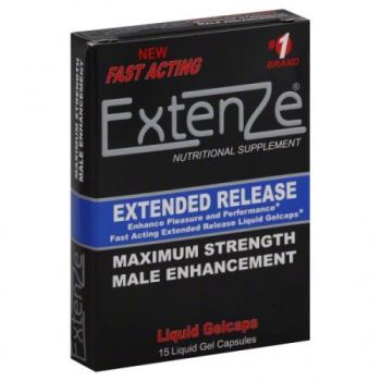 Extenze Extended Release Gelcaps 15ct
