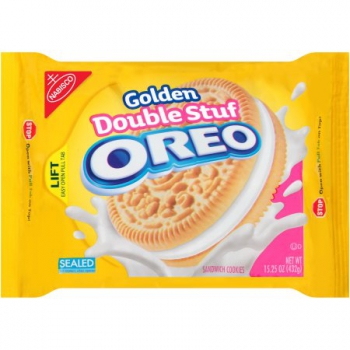 OREO Sandwich Cookies  Double Golden Stuf OREO