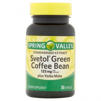 Spring Valley Svetol Green Coffee Bean Extract Capsules 30 Kapseln