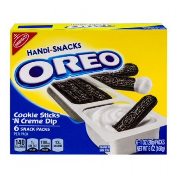 OREO Handi Snacks Cookie Sticks'n  Creme Dip ca. 168g (6oz)