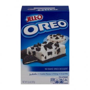 Jell-O No Bake Dessert Oreo Mix ca. 357g (12.6oz)