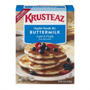 Krusteaz Complete Pancake Mix Buttermilk ca. 900g (31.7oz)