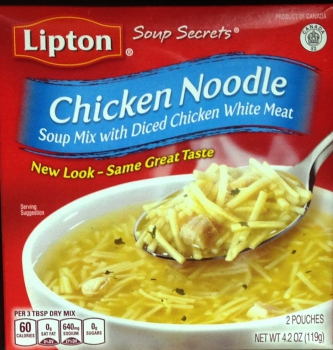 Lipton Soup Secrets  Chicken Noodles ca. 119g (4.2oz)