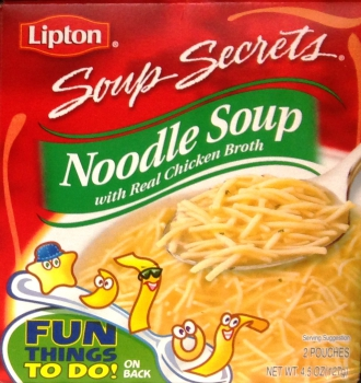 Lipton Soup Secrets  Noodle Soup  with real Chicken Broth ca. 127g (4.45oz)