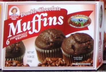 LittleDebbie Double Chocolate Muffins ca. 323g (11.4oz)