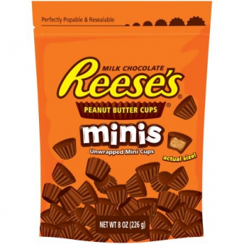 REESE'S Peanut Butter Cup Minis Pouch ca. 238g (8.4oz)