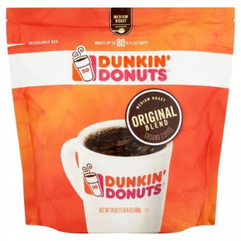 Dunkin' Donuts Original Blend Medium Roast Coffee ca. 680g (24oz)