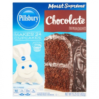 Pillsbury Moist Supreme Cake Mix Chocolate ca. 430g (15.16oz)
