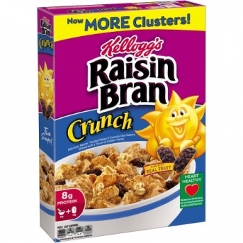 Kellogg's Raisin Bran Crunch Cereal ca. 515g (18.1oz)