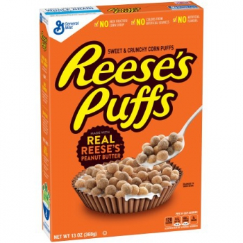 General Mills Reese's Peanut Butter Puffs Cereal ca. 370g (13oz)