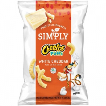 Simply Cheetos Puffs White Cheddar ca. 226g (8oz)