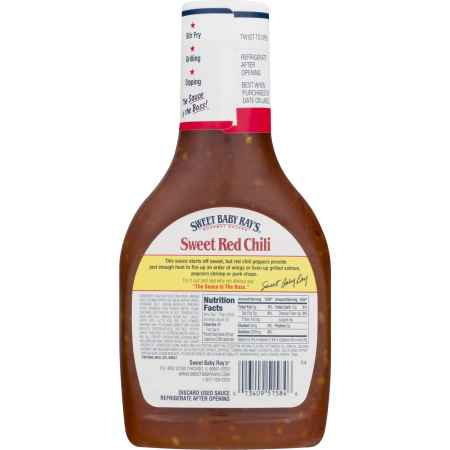 Sweet baby ray 39 s sauce marinade sweet red chili for Bisulfite de sodium piscine