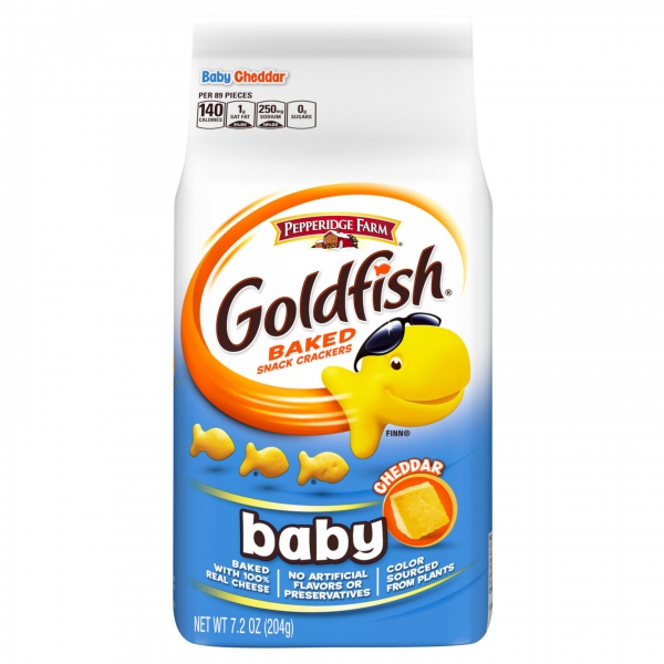 Pepperidge Farm Goldfish Baby Cheddar ca. 204g (7.2oz)