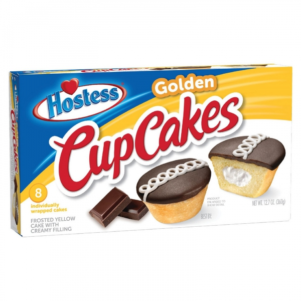 Hostess Golden CupCakes ca. 360g (12.7oz)