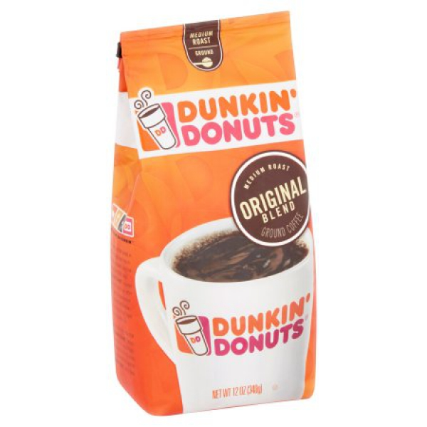 Dunkin' Donuts Original Blend Medium Roast Ground Coffee ca. 340g (12oz)