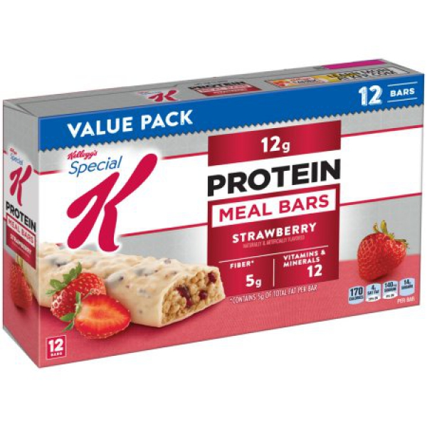 Kellogg's Special K Strawberry Protein Meal Bars ca. 540g (19oz)