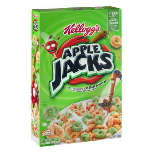 Kellogg's Apple Jacks Cereal ca. 354g (12.5oz)