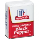 McCormick Black Pepper ca.85g (3oz)