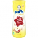 Gerber Graduates Puffs, Apple Cinnamon Cereal Snack ca. 41g (1.45oz)
