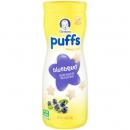 Gerber Graduates Puffs Blueberry Cereal Snack ca. 41g (1.45oz)