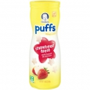 Gerber Graduates Puffs Strawberry Apple Cereal Snack ca. 41g (1.45oz)