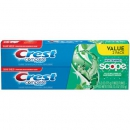 Crest Complete Multi-Benefit Whitening + Scope Fluoride Toothpaste 2er-Pack ca. 351g (12.4oz)