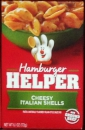 Hamburger Helper Nudelgericht  Cheesy Italian Shells ca. 172 g (6oz)