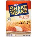 Kraft Shake 'n Bake Hot &Spicy Seasoned Coating Mix ca. 134g (4.7oz)