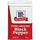 McCormick Black Pepper  226g